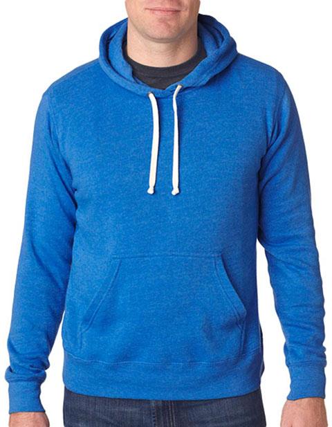 J8871 J-America Adult Tri-Blend Hooded Fleece