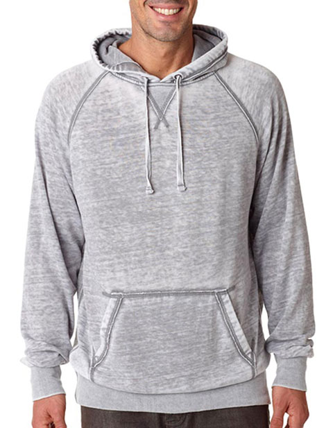 J8915 J-America Adult Vintage Zen Hooded Pullover Fleece