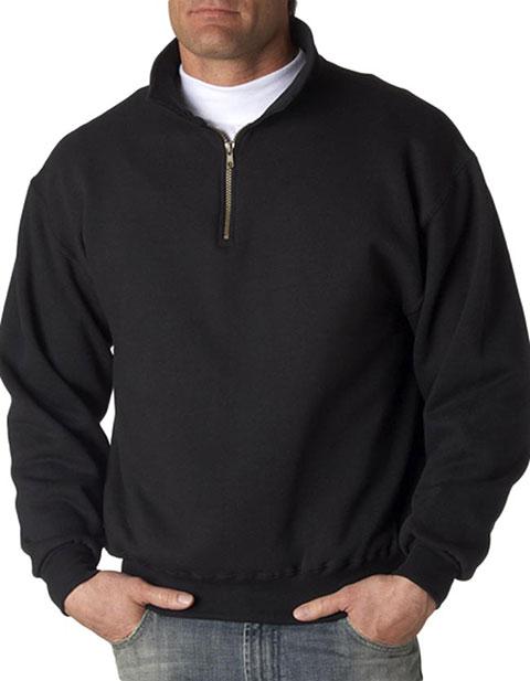 4528 Jerzees Adult Super Sweats Quarter-Zip Cadet Collar Sweatshirt
