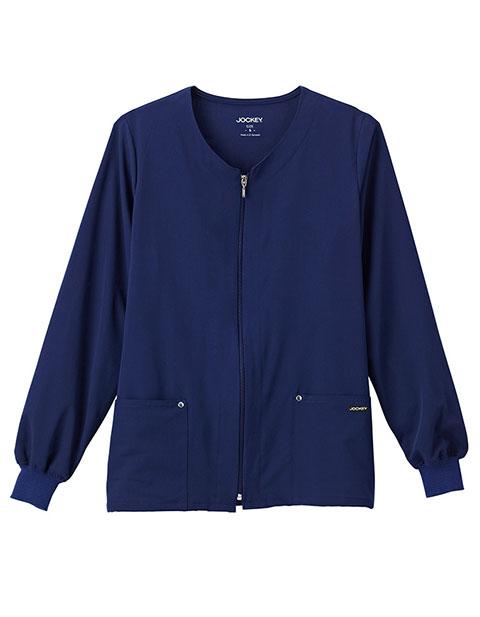 Jockey Classic Women's V-Neck Zip-Up Jacket