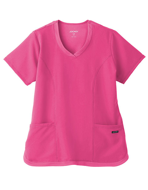 Jockey Ladies Cool Mesh Shirttail Top