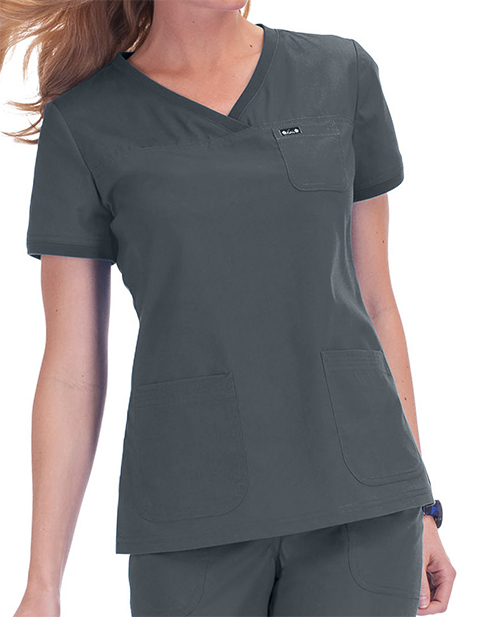 KOI Comfort Women's Nicole Basic Scrubs Top