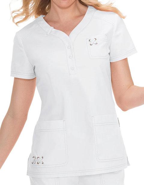 KOI Women's Josie Fashion Scrub Top