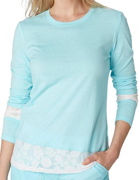 KOI Women's Elizabeth Long Sleeves Fashion Tee