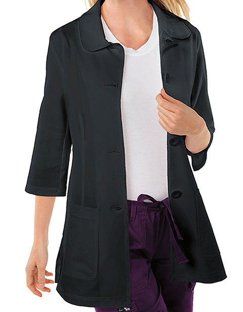 KOI Women's Amber Three Quarter Sleeves Labcoat