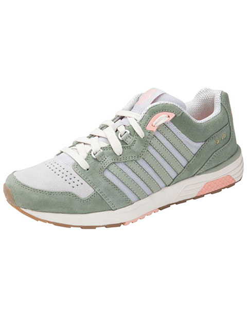 Kswiss Women's Leather Mesh Athletic Footwear