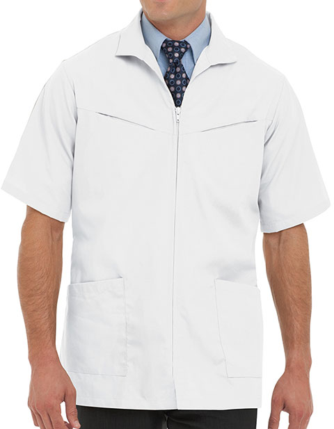 Landau Mens Two Pocket 31 Inches Professional Medical Lab Jacket