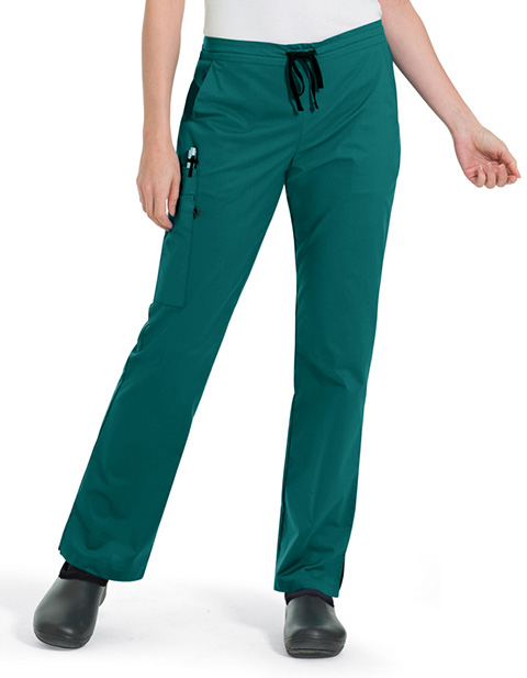 Landau Women's Two Hip Pockets Cargo Scrub Pant