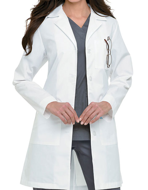 Landau Womens Three Pocket 39 Inches Long Medical Lab Coat