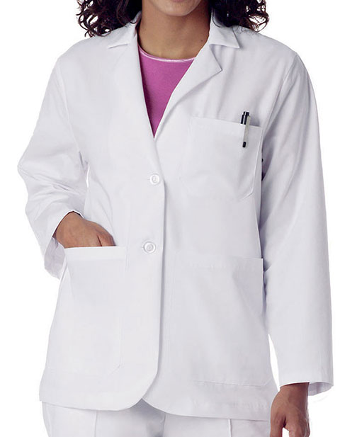 Landau Womens 28.5 Inch Five Pocket Medical Consultation Coat