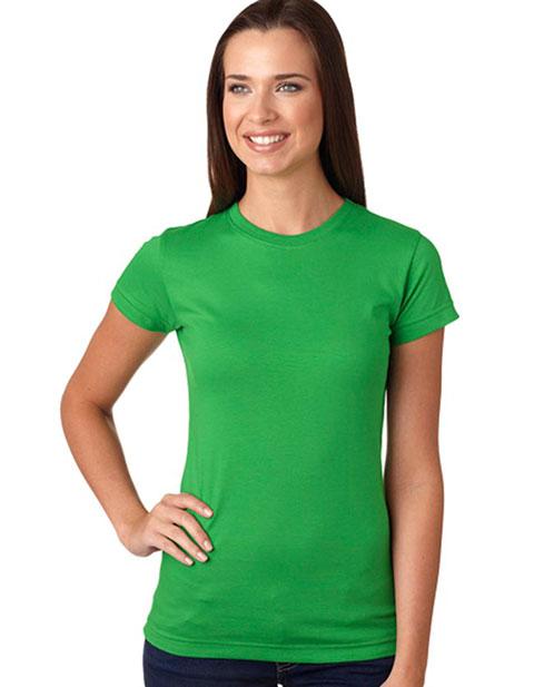 LA T Juniors' Fine Jersey Longer Length T-Shirt