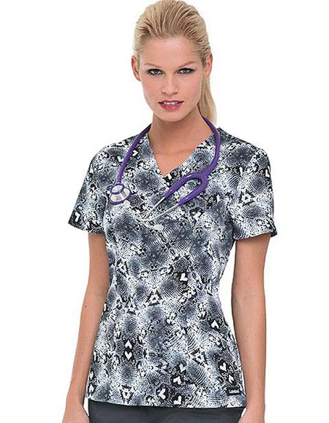 Office 365 Cherokee >> Buy Landau Skin Tight Crossover Nursing Scrub Top for $0.00