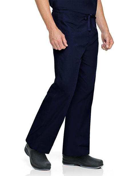 Landau Unisex Reversible Petite Drawstring Medical Scrub Pants