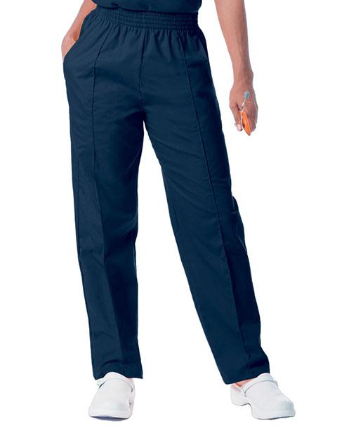 Landau Women Classic Fit Elastic Waist Medical Scrub Pants