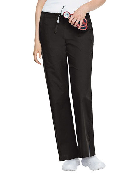 Landau Tall Length Womens Elastic Back Medical Scrub Pants