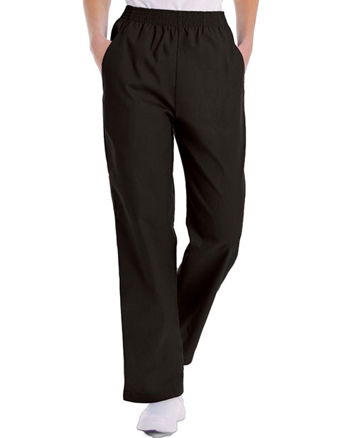 Landau Women Two Pocket Classic Tall Elastic Waist Scrub Pants
