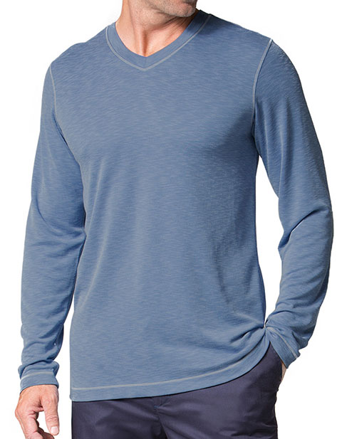 Maevn Knit Men's Long Sleeve Modal Tee