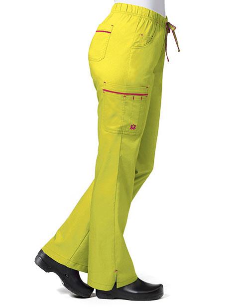 Maevn PrimaFlex Women's Petite Double Cargo Pant