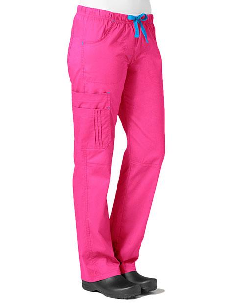 Maevn Blossom Women's Pintuck Cargo Pant