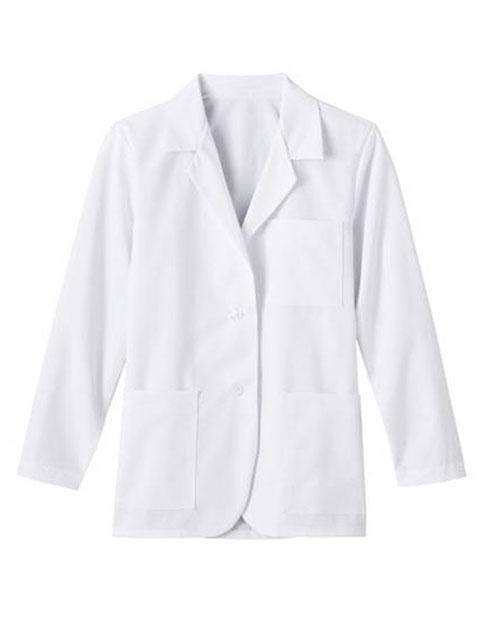 Meta Fundamentals Ladies 28 Inch Consultation Tall Labcoat
