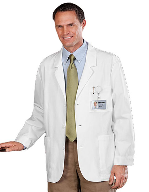 Meta 30 inches Mens Expandable iPad Consultation Lab Coat