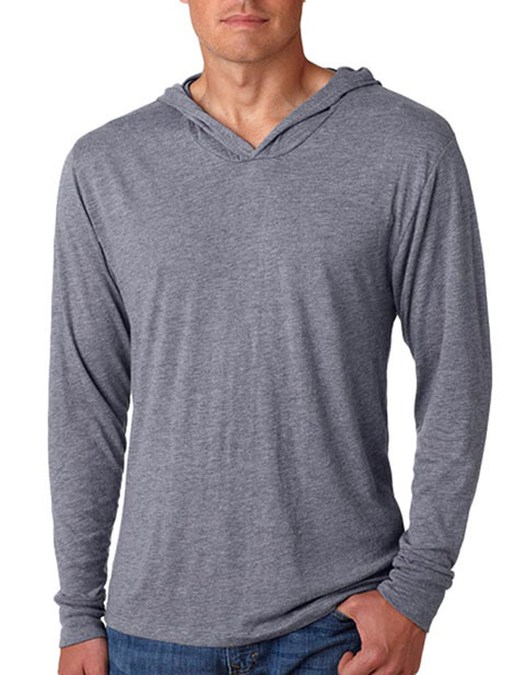 Next Level Tri-Blend Long-Sleeve Hoody