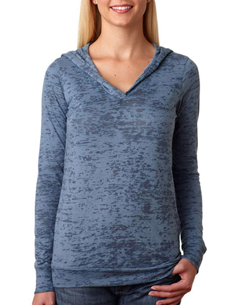 6521 Next Level The Burnout Hoody