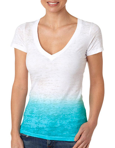 Next Level Ombre Burnout Deep V