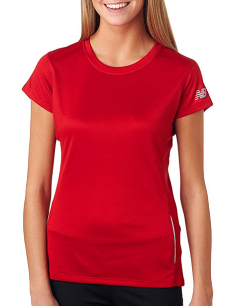 NB9118L New Balance® Ladies' Tempo Performance T-Shirt