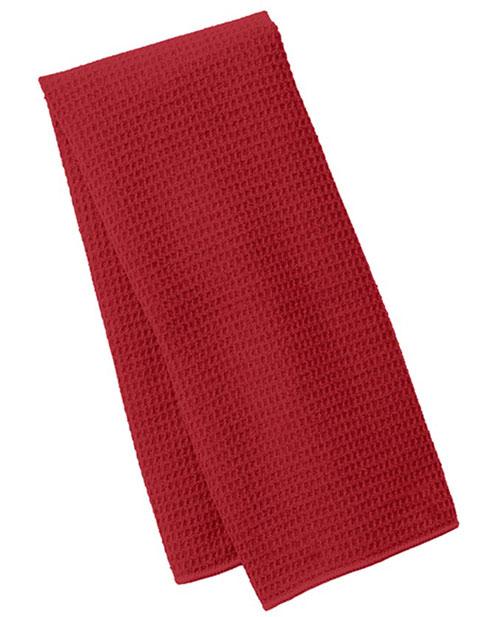 Port Authority Unisex Waffle Microfiber Fitness Towel