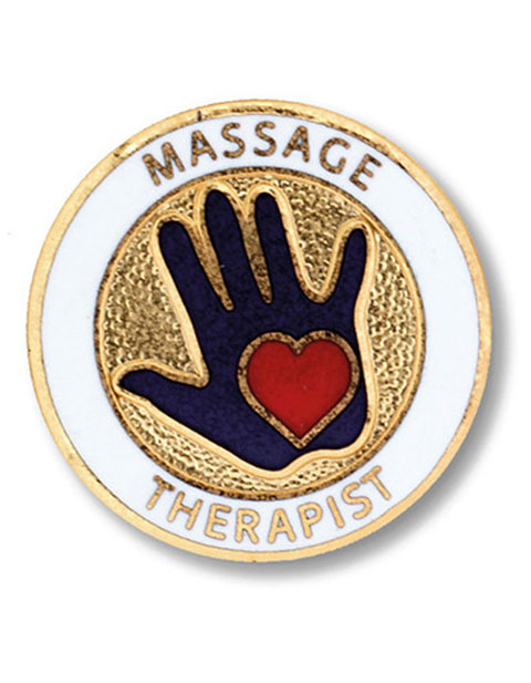 Prestige Massage Therapist Emblem Pin
