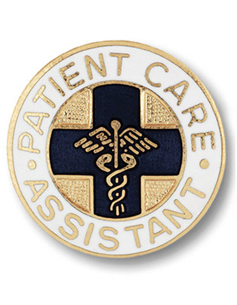 Prestige Patient Care Assistant Emblem Pin
