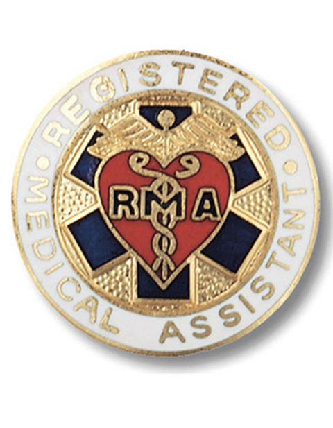 Prestige Registered Medical Assistant Pin