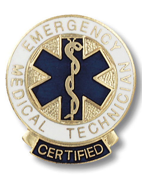 Prestige Certified Emergency Medical Technician Pin