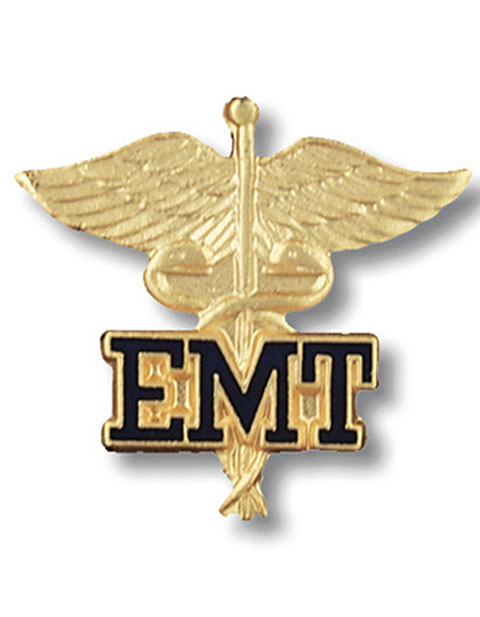 Prestige Emergency Medical Technician Emblem Pin
