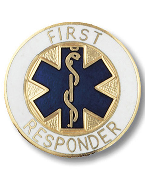Prestige First Responder Emblem Pin