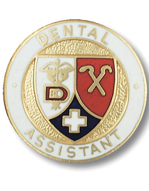 Prestige Dental Assistant Emblem Pin
