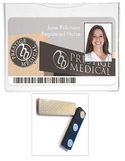 Prestige Magnetic ID Holder