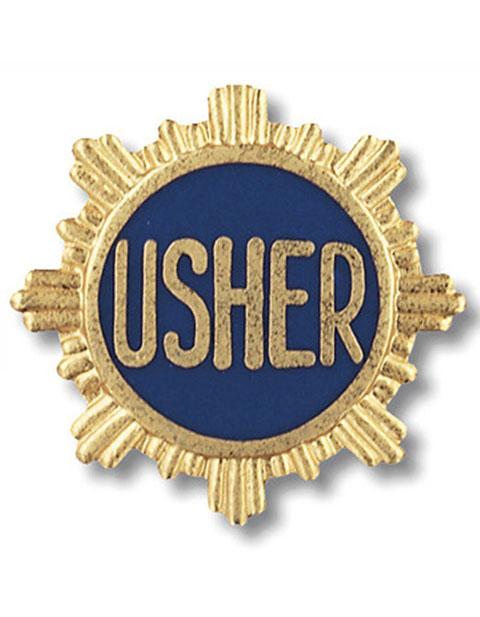 Prestige Usher Emblem Pin