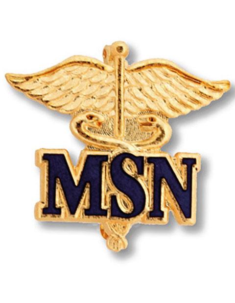Prestige Master of Science Nursing Emblem Pin