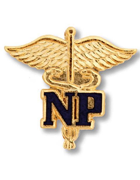 Prestige Nurse Practitioner Emblem Pin
