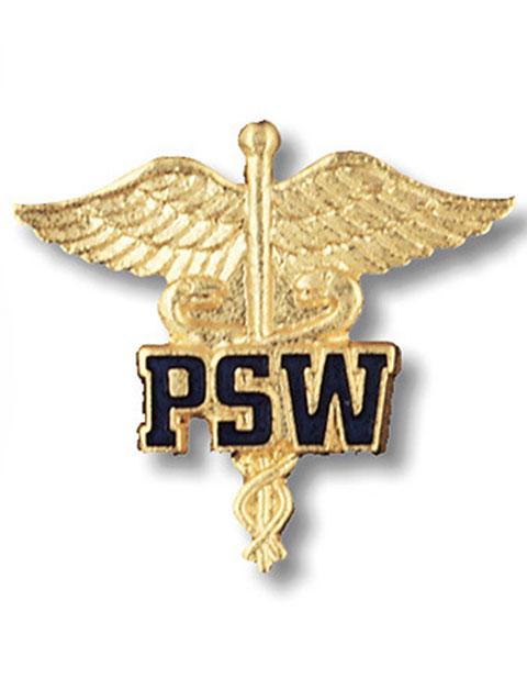 Prestige Patient Service Worker Emblem Pin
