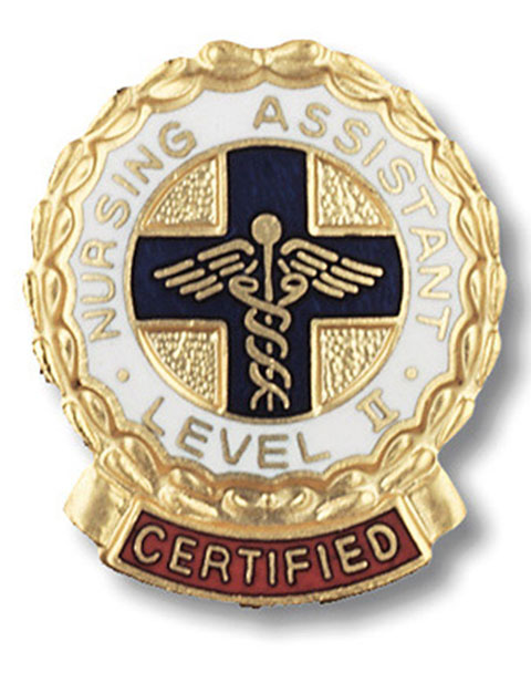 Prestige Certified Nursing Assistant, Level II  Emblem Pin