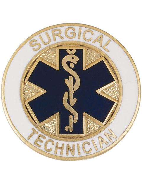 Prestige Surgical Technician Emblem Pin