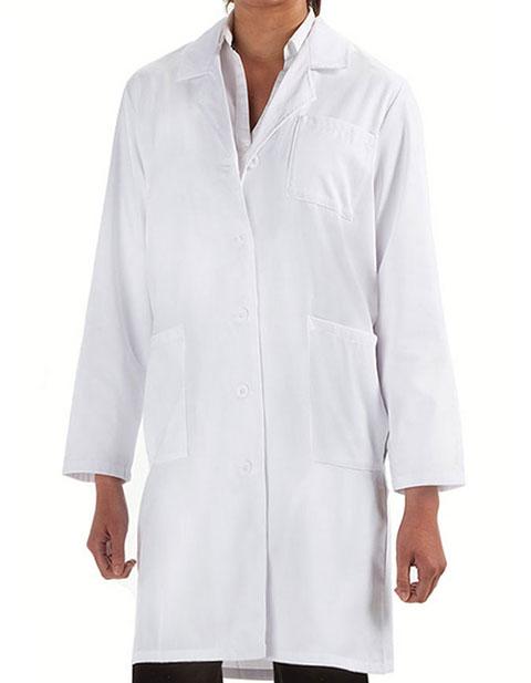Prestige Women's Back Belt Long Lab Coat