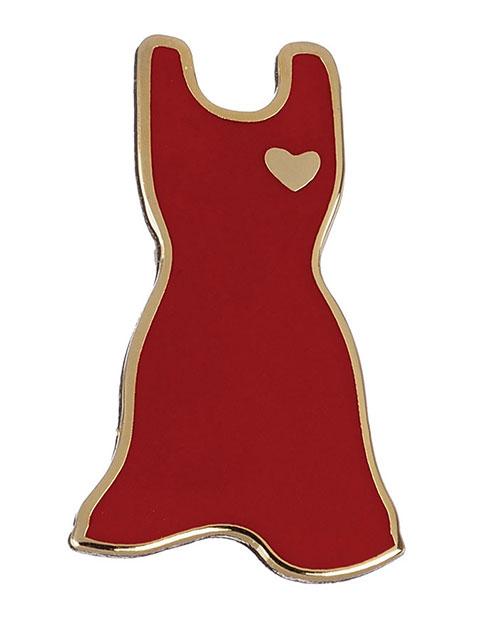 Prestige Red Dress Tac Pin