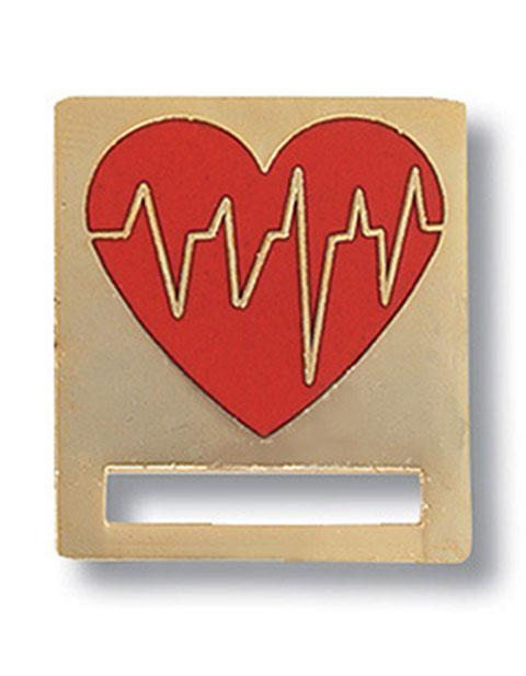 Prestige EKG Heart Badge and Professional Tac