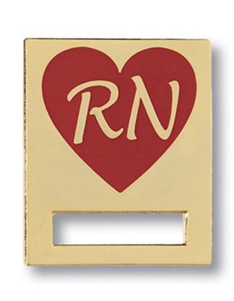 Prestige Registered Nurse Heart Badge and Professional Tac