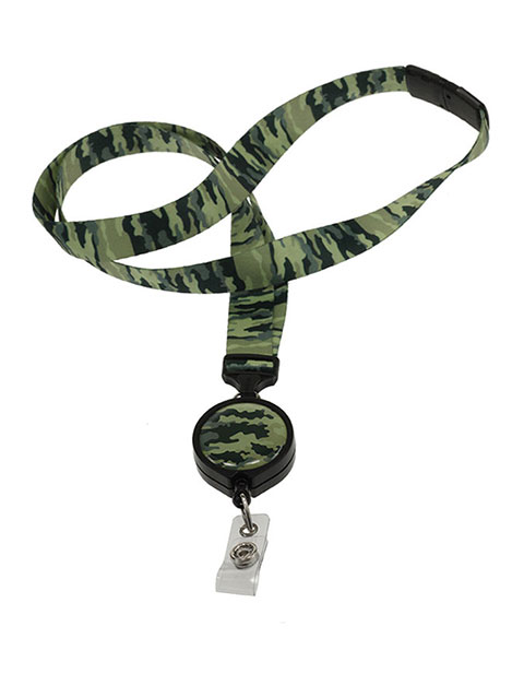 Prestige ID Avenue Ribbon Lanyards with Badge Reel