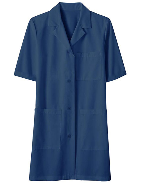 Unisex 40 inch Three Pocket Assorted Colored Lab Coats
